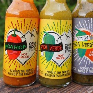 hot sauce from Open Ridge Farm